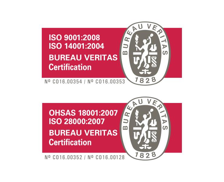 Iso Certificates Viappiani De Columbia